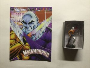 Metamorpho Super Hero Collection 59 Lead Figure and Magazine Dc Eaglemoss