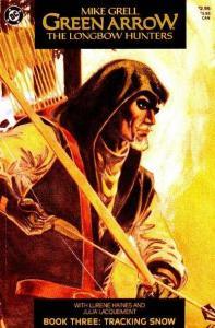 Green Arrow: The Long Bow Hunters #3, NM + (Stock photo)