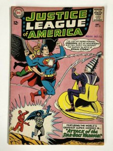 JUSTICE LEAGUE OF AMERICA (1960-1987 DC) 32 VG+ INTRO/ COMICS BOOK