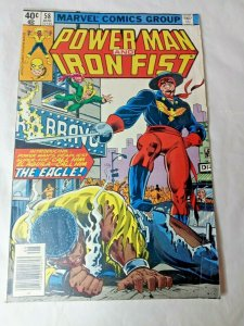 Marvel Comics #58 - POWER MAN and IRON FIST August 1979 Bronze Age FN+
