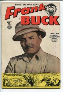 Frank Buck Comics #70 1950- Wally Wood- VG/FN