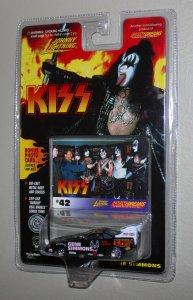 Kiss Johnny Lightning Car (Gene Simmons)  MOC  1997