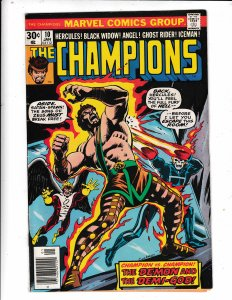 THE CHAMPIONS #10 /FN/VG   Save on Shipping