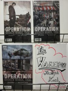 OPERATION BROKEN WINGS 1936 (2011 BOOM) 1-3  COMPLETE!