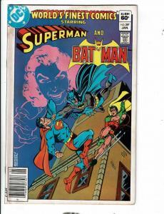 6 World's Finest Comics #287 288 289 290 291 293 DC Comic Books Batman Flash JG4