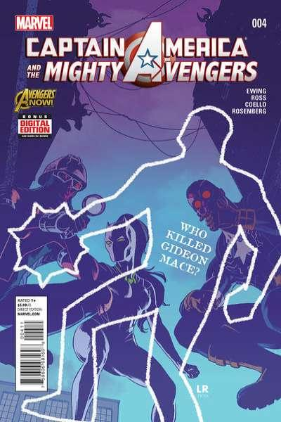 Captain America & The Mighty Avengers #4, NM + (Stock photo)