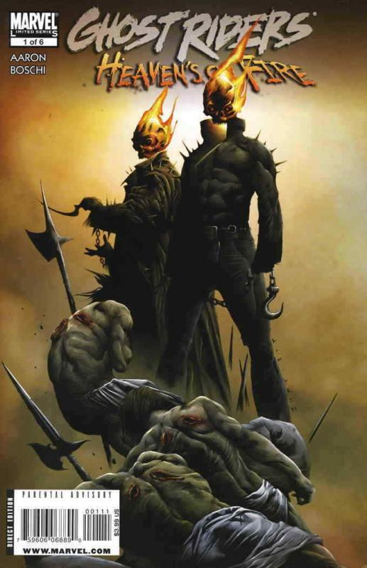 Ghost Riders: Heaven's on Fire #1 FN; Marvel | save on shipping - details inside