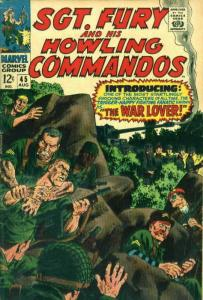 Sgt. Fury #45 VG; Marvel | low grade comic - save on shipping - details inside