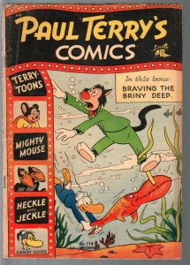 Paul Terry's Comics #114 1954-St. John-Mighty Mouse-Heckle & Jeckle-VG