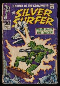 Silver Surfer #2 Fair 1.0 1st Badoon Marvel Comics