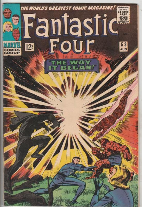 Fantastic Four #53 (Aug-66) VF/NM High-Grade Fantastic Four, Mr. Fantastic (R...