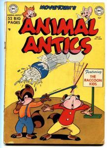 ANIMAL ANTICS #27 comic book 1950-RACCOON KIDS-Funny Animal-GOLDEN AGE