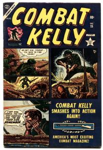 COMBAT KELLY #15 MANCHURIA MARY DEATH ISSUE KOREA fn+