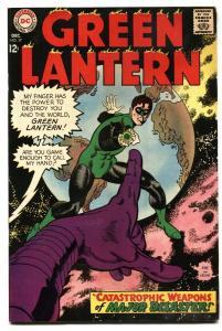 GREEN LANTERN #57 1967-GLOBE COVER-GIL KANE FN/VF