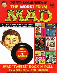 Worst From Mad, The #5 FAIR; E.C   low grade comic - save on shipping - details