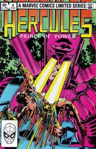 Hercules (Vol. 1) #4 VF; Marvel | save on shipping - details inside