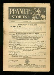 PLANET STORIES-SPG 1944-GRAHAM INGLES-LEE ELIAS ART    FR