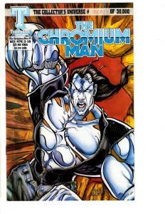 Lot Of 6 The Chromium Man Triumphant Comics Comic Books # 1 3 4 (2) 1 2  J295