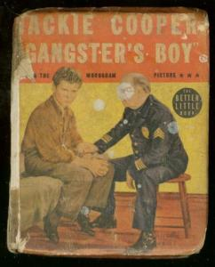 JACKIE COOPER GANGSTER'S BOY-BIG LITTLE BOOK-1402-MOVIE FR