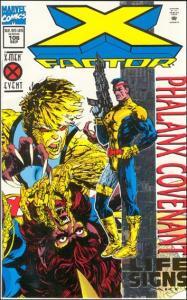 Marvel X-FACTOR (1986 Series) #106 VF Foil Cover