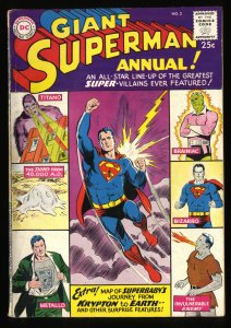 Superman Annual #2 FN- 5.5 DC Comics