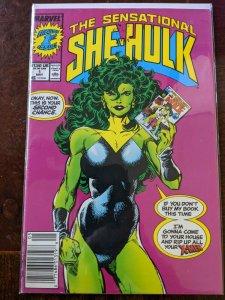 Sensational She-Hulk #1. VF+