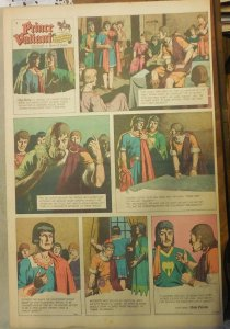 Prince Valiant Sunday by Hal Foster from 9/1/1963 Rare Full Page Size !