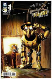 Legends of Oz Tik-Tok And The Kalidah #1 Cvr A (Aspen, 2016) NM