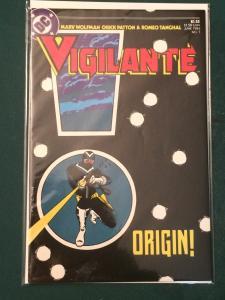 Vigilante #7 ORIGIN!