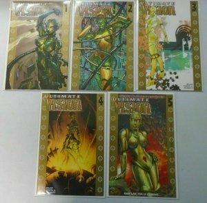 Ultimate Vision  set #1-5 Flip Books 8.0 VF (2006)