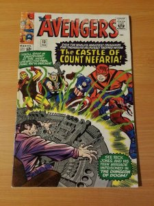 The Avengers #13 ~ VERY GOOD - FINE FN ~ 1965 MARVEL COMICS