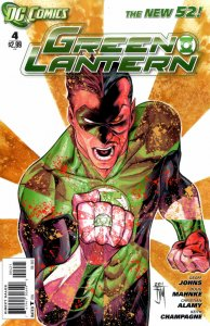 Green Lantern #4 (VF/NM) 2011 Variant Cover DC Comics ID#000
