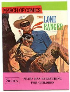 March of Comics #350 1970-Lone Ranger- Sears Promo Comic VF-