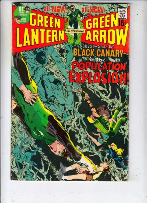 Green Lantern #81 (Dec-70) NM- High-Grade Green Lantern, Green Arrow