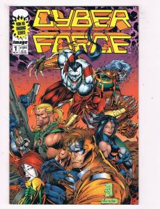 Cyber Force #1 VF/NM Image Comics Book Silvestri Nov 1994 DE43 TW14
