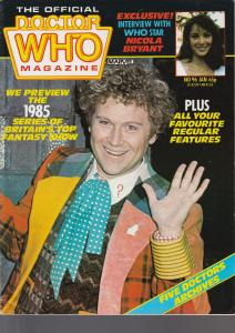 Doctor Who Fan Magazine #96
