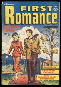 FIRST ROMANCE #3 1949-HARVEY COMICS-BOB POWELL ART-GGA FN-