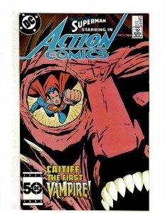 12 Action Comics Weekly DC Comics 577 584 585 586 587 590 591 592 597 598 + HG3
