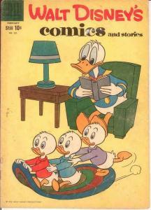 WALT DISNEYS COMICS & STORIES 221 GOOD   Feb.1959 COMICS BOOK