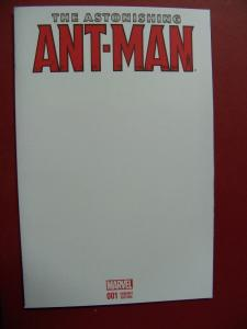 THE ASTONISHING ANT-MAN #001 BLANK VARIANT COVER MARVEL COMICS