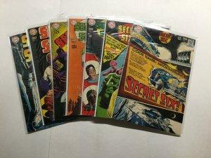 Secret Six 1-7 1 2 3 4 5 6 7 Lot Run Set Fine To Very Fine 6.0-8.0 Dc Comics