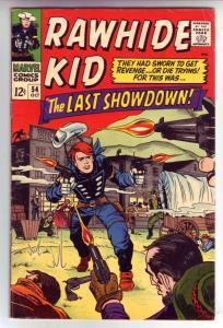 Rawhide Kid #54 (Oct-66) FN+ Mid-High-Grade Rawhide Kid