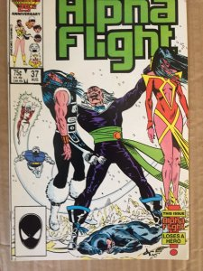 Alpha Flight #37 (1986)