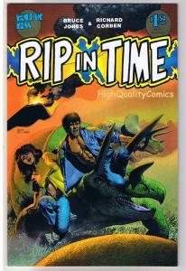 RIP IN TIME #2, VF/NM, Richard Corben, Fantagor, Dinosaurs, 1986