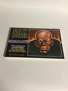 Sax Rohmer's Fu Manchu The Zayat Kiss The Severed Fingers Oversized SC B17