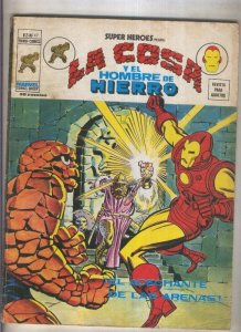Super Heroes volumen 2 numero 47: La Cosa y El Hombre de Hierro (numerado 2 e...