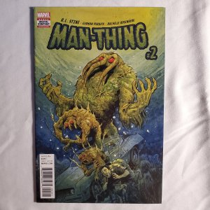 Man-Thing 2 Very Fine- Cover by Tyler Crook