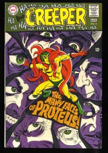 Beware The Creeper #2 VF- 7.5 White Pages