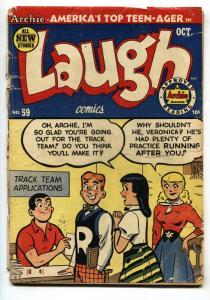 LAUGH COMICS #59 1953- ARCHIE COMICS- KATY KEENE