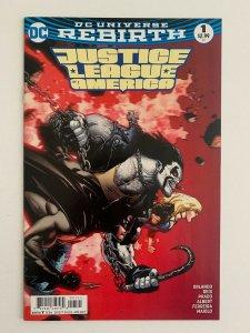 Justice League of America #1 DC Rebirth Variant Lobo (DC Comics) NM